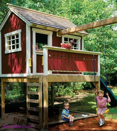 toddler swing sets and playhouses 17 best ideas about playhouse plans on pinterest diy