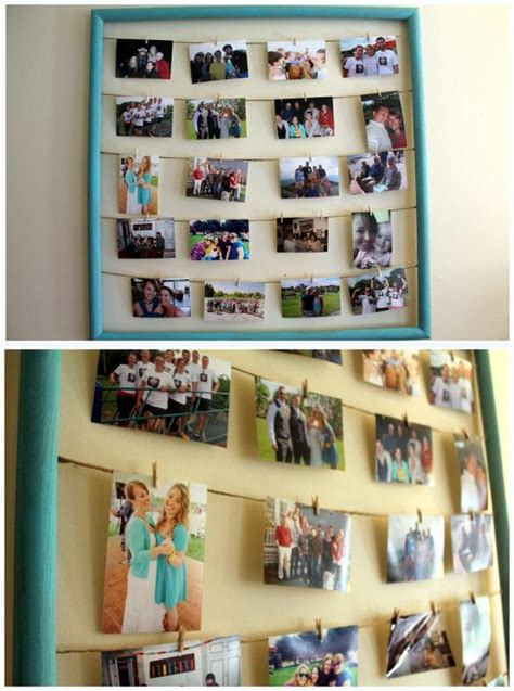 Handmade Photo Frame Design - 10 easy diy photo frame designs