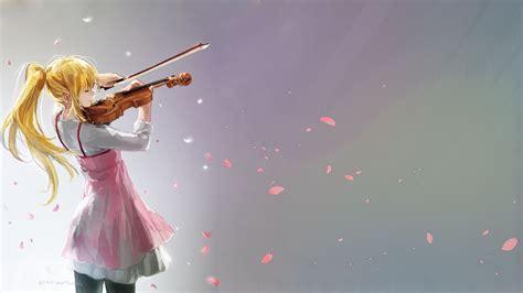 anime wallpaper violin wallpaper anime girls shigatsu wa kimi no uso miyazono