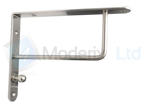 strong metal shelf supports bracket high quality chrome
