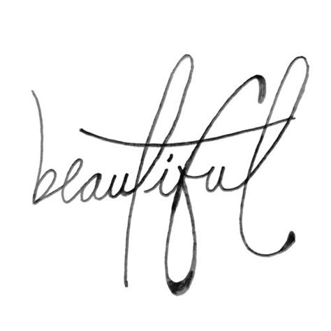 tattoo font young and beautiful the word beautiful in cursive beautiful cursive