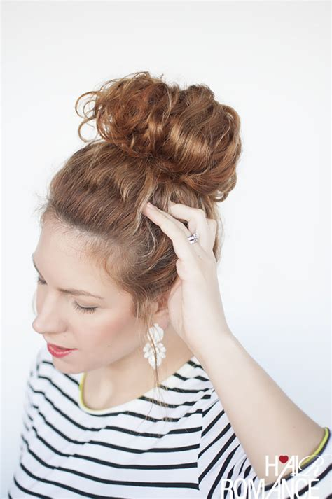everyday curly hairstyles curly braided top knot hairstyle top knot tutorial how to make mohawk braid top
