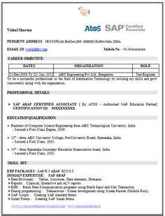 Mba Marketing With Sap by Mba Marketing Fresher Resume Sle Doc 1 Career