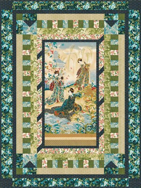 quilt pattern using 3 fabrics karyukai designed by robert kaufman fabrics features