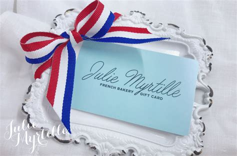 Where To Sell Gift Cards Instantly - julie myrtille gift cards now available blogs de cuisine