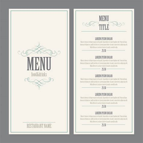 menu design eps file menu clip art vector images illustrations istock
