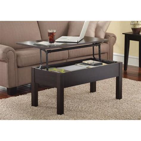 mainstays lift top coffee table colors