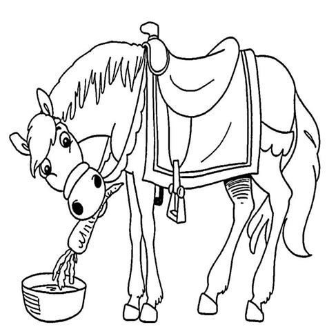 dibujos para colorear de caballos dibujos de caballos para colorear e imprimir gratis