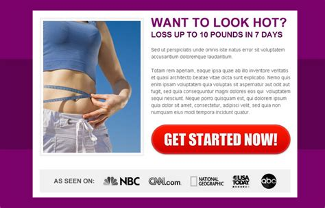 Weight Loss Cta Ppv Landing Page 012 Preview Weight Loss Testimonial Template