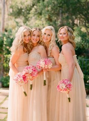 Garden Wedding Hairstyles For Bridesmaids by Pictures On Garden Wedding Bridesmaid Dresses Bridal