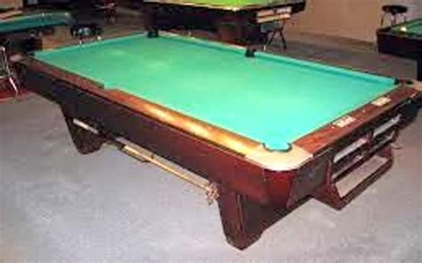used tables brunswick medalist pool table for sale