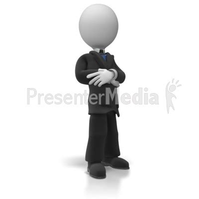 Business Man Pose Business And Finance Great Clipart For Presentations Www Presentermedia Com Presenter Medi