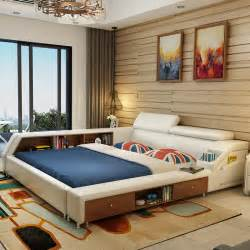 White Leather Bedroom Furniture online buy wholesale white leather beds from china white leather beds
