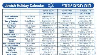 Yom Kippur Calendar 2018 2017 Holidays Calendar Template 2016