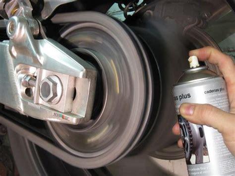 cadena de moto limpieza c 243 mo mantener la cadena de la moto