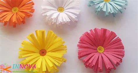 flores de crepe sencillas como hacer rosas en papel crepe ideas y manualidades