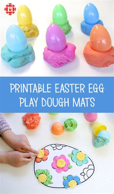 free printable easter playdough mats 17 best images about easter ideas on pinterest bunny