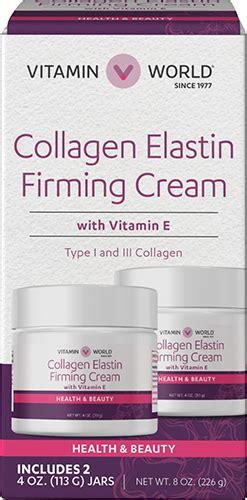 Collagen Vitamin E collagen elastin firming with vitamin e at vitamin world