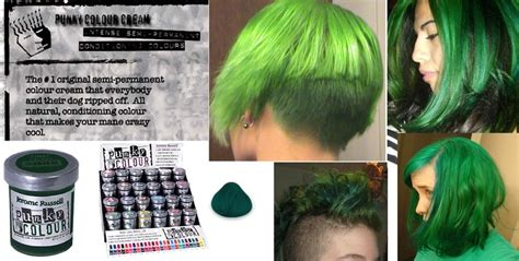 punky color alpine green alpine green semi permanent dye by punky colour