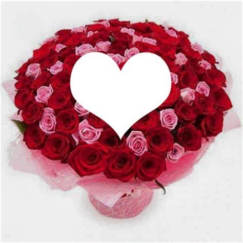 photo montage fleurs d'amour pixiz