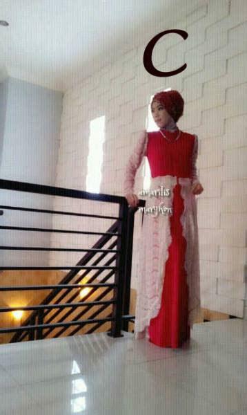 amarilis by marghon c baju muslim gamis modern