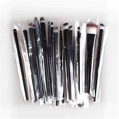 20pcs Set Makeup Brushes Cosmetic 1 20pcs eye makeup brushes set eyeshadow blending brush