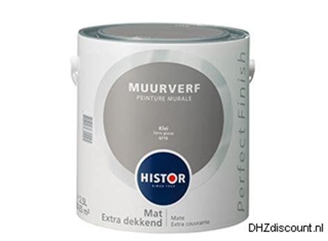 10 Liter Verf Hoeveel M2 by Dhzdiscount Nl Histor Verf Muurverf Histor
