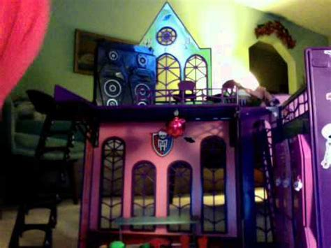 monster high doll house reviews monster high doll house review youtube