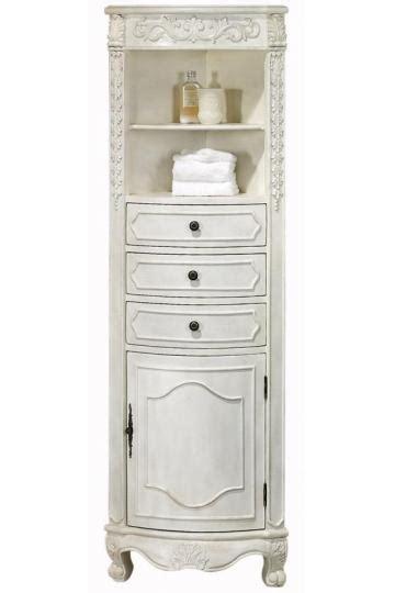 armoires and accents san antonio corner bathroom linen cabinet 22 quot w corner linen