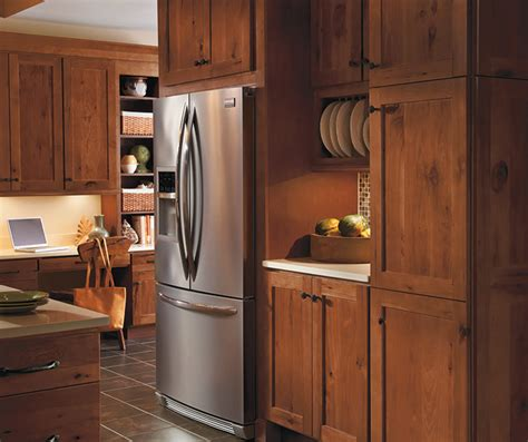 Masterbrand Kitchen Cabinets by Rustic Hickory Kitchen Cabinets Homecrest Cabinetry