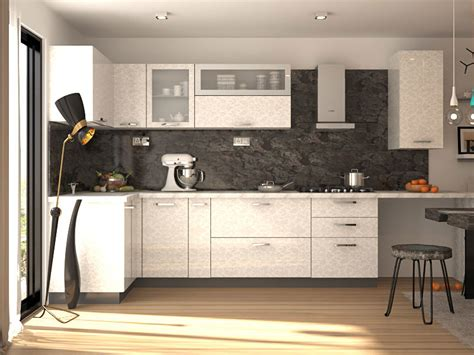 L Shaped Modular Kitchen Designs & Prices India   HomeLane