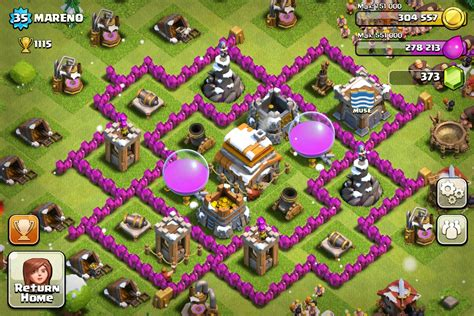 clash of clans town hall 6 setups th6 setups town hall 6 clash of clans