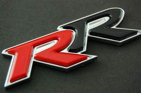 Emblem Type R rr honda civic badge emblem si ep3 fd2 3d type r logo ebay