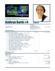 Soccer Player Profile Template by Player Profile Soccer Fill Printable Fillable