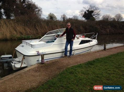 new boats for sale norfolk broads quot new quot classic shetland 2 2 motor boat fast cruiser on