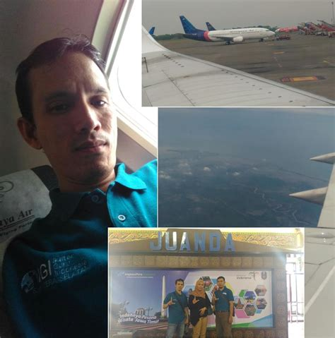 tutorial naik pesawat penerbangan pertamaku melalui gerakan literasi dari igi