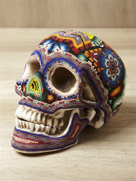 beaded skulls artoftheindians