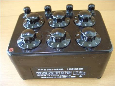 decade resistance box uses precision variable decade resistor resistance box for lab tool experimental use