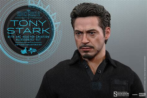Tony Stark marvel tony stark with arc reactor creation accessories