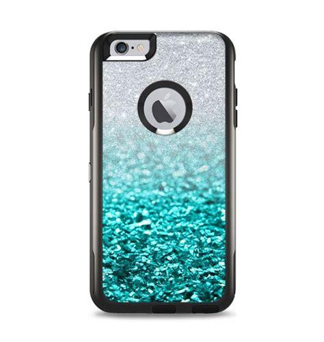 tiffany blue silver glimmer fade apple iphone