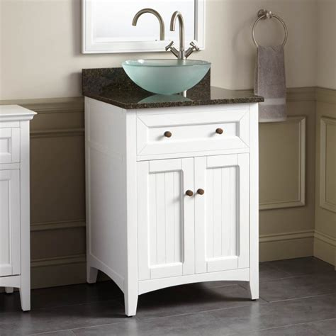 White Bathroom Vanity With Vessel Sink by 24 Quot Halifax Vessel Sink Vanity White Vessel Sink Vanities Bathroom Vanities Bathroom