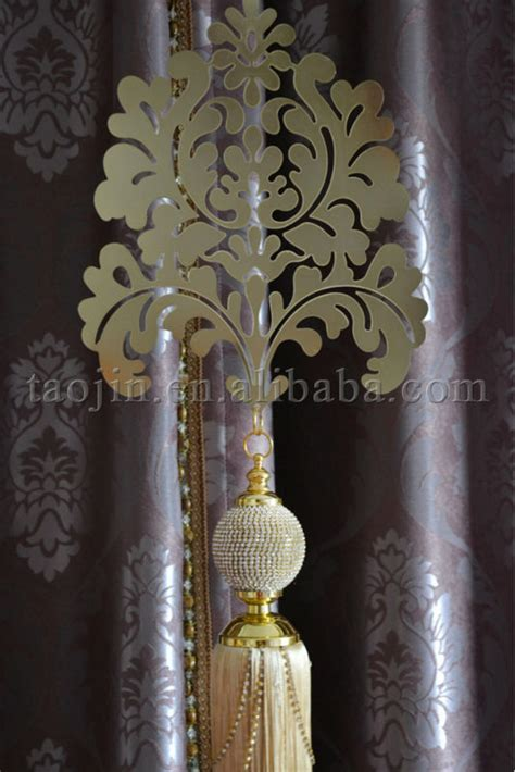 decorative tiebacks for curtains dimond tassels hotel decorative tiebacks metallic