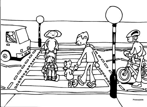 coloring pages of zebra crossing crossing the street coloring pages