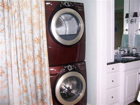 how to hide washer and dryer in bathroom photo page hgtv
