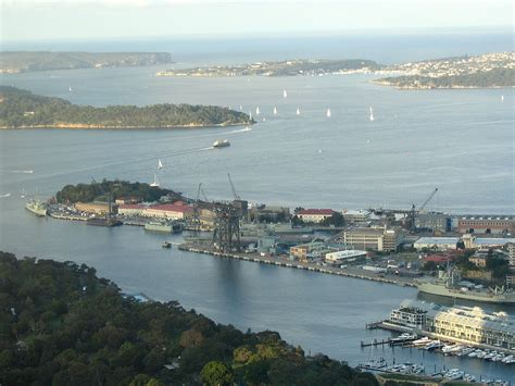 Garden Island File Garden Island From Sydney Tower Jpg Wikimedia Commons