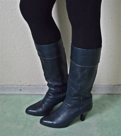 blue leather boots navy leather boots navy blue leather boots womens boots