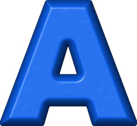 A Blue presentation alphabets blue refrigerator magnet a