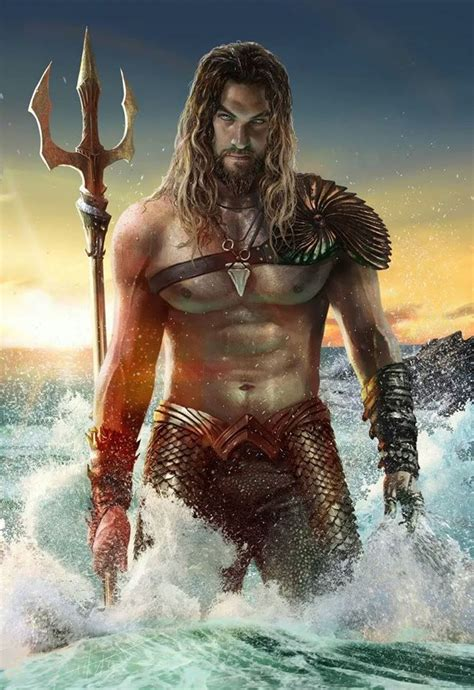 film fantasy hot 5 fan made concept art of jason momoa as aquaman we geek