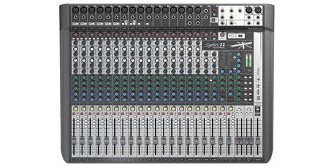 Soundcraft Lx7ii24 24 Channel Mixer Multi Effect Original soundcraft signature 22 mtk