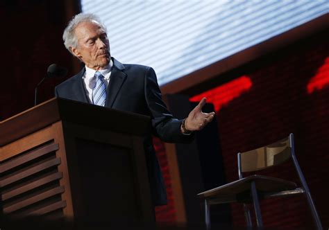Clint Eastwood Chair by How Barack Obama Killed Wayne
